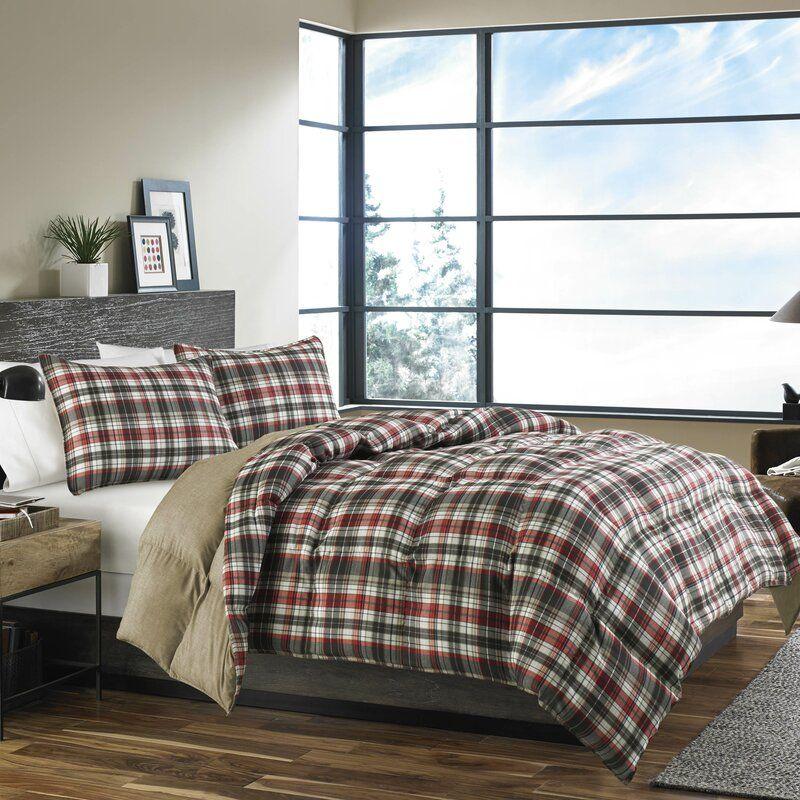 Eddie Bauer Astoria Reversible Comforter Set Reviews Wayfair In 2020 Comforter Sets Plaid Comforter King Comforter Sets