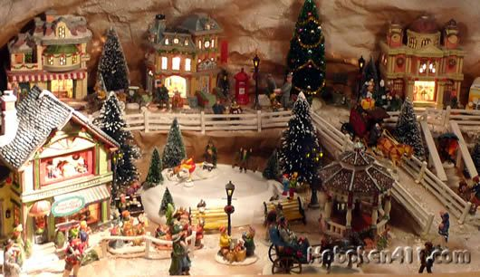 Pin by phyllis blair on Dream Village Pinterest School - christmas town decorations