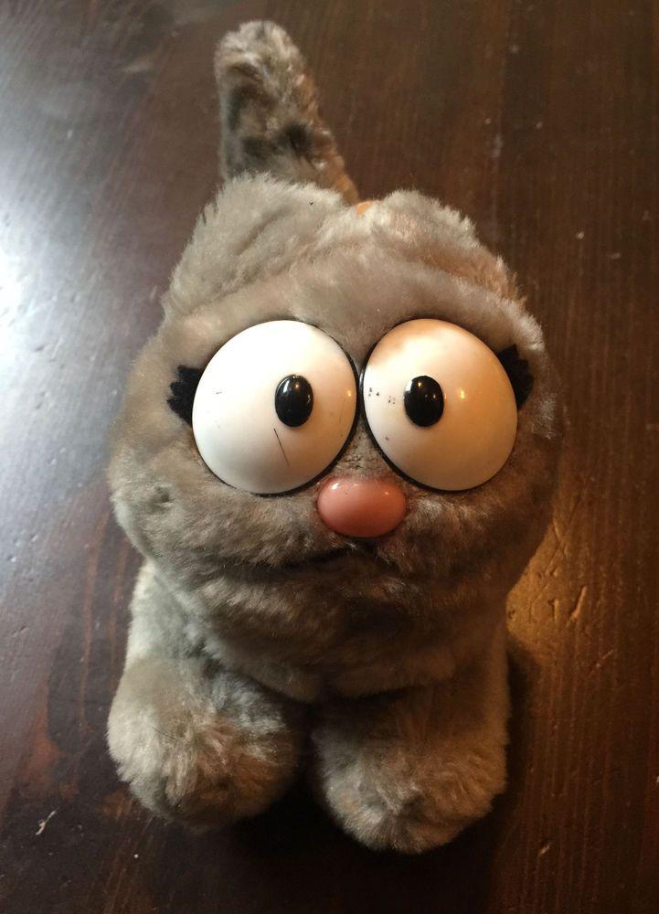 Vintage 1983 Nermal Plush Garfield Stuffed Animal Cousin