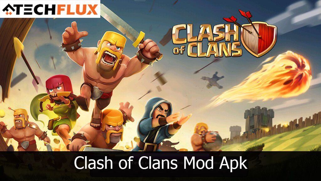 Clash Of Clans Mod Apk Clash Of Clans Clash Of Clans Hack