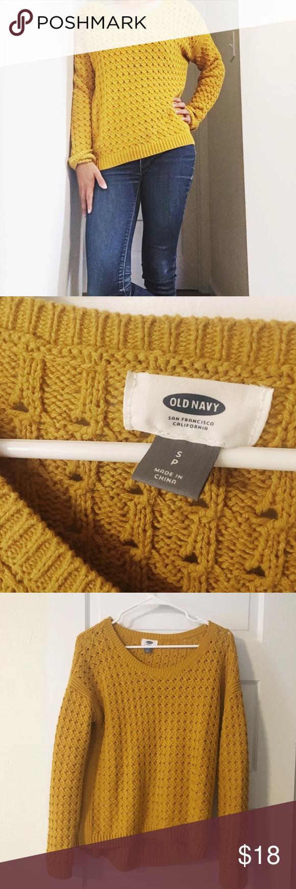 Old Navy Mustard Yellow Sweater | Yellow sweater, Mustard yellow ...