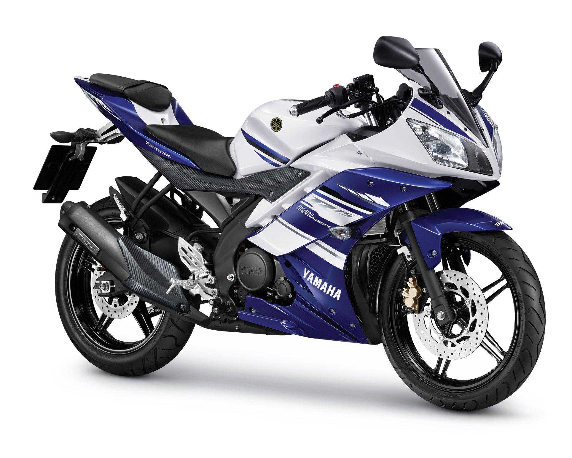 Yamaha Yzf R15 Blue 2014 Sepeda Motor Sport Industri