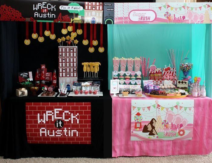 Wreck It Ralph Birthday Party Planning Ideas Supplies Idea