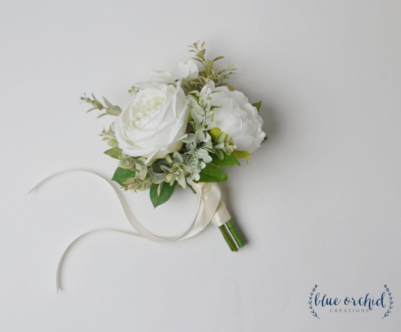Минималистичный букет невесты