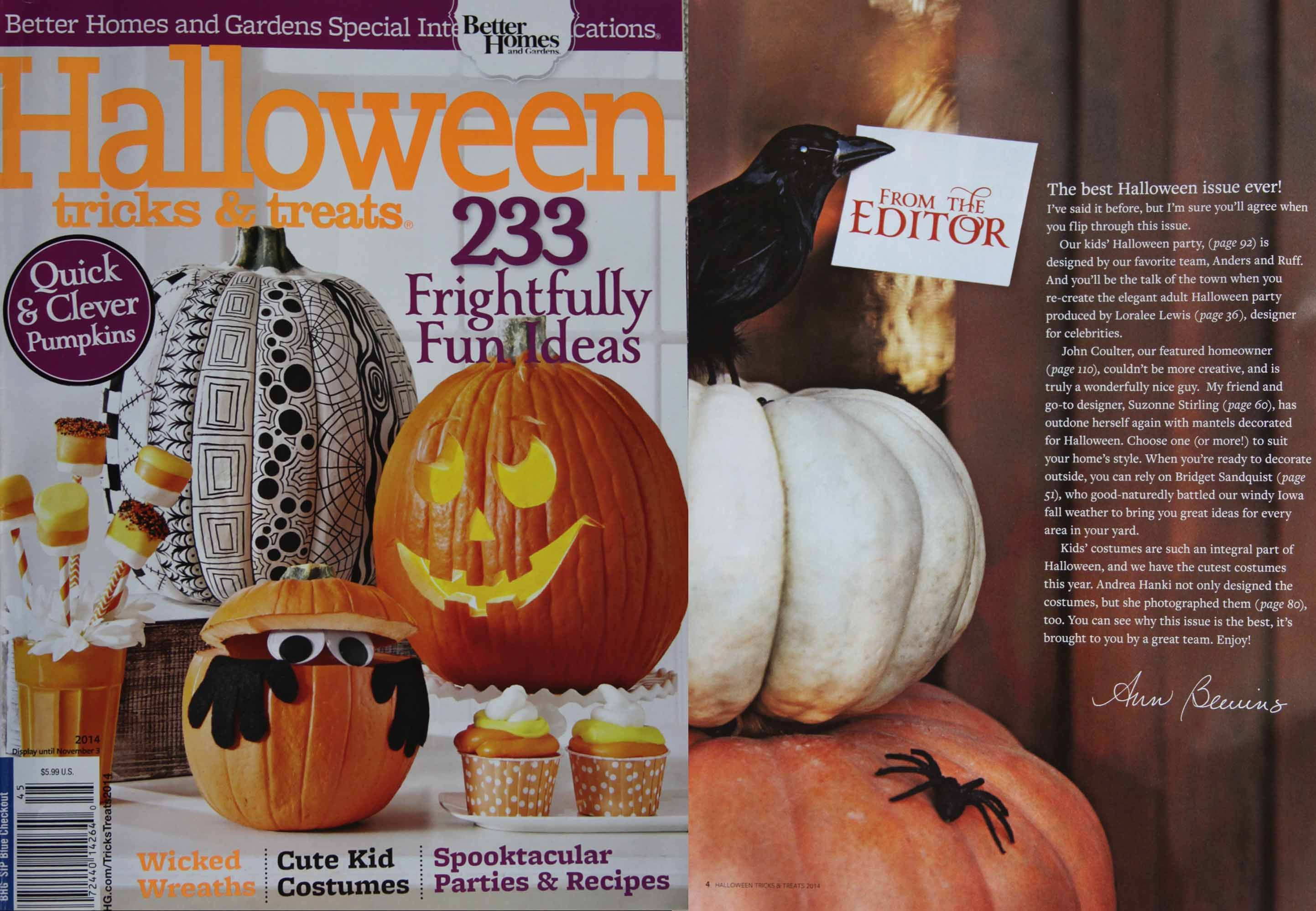 Perfect Better Homes And Gardens Halloween Magazine. Download All The FREE  Printables At Www.bhg Ideas