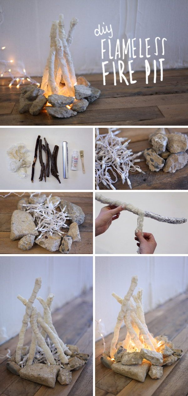 Holiday decoration diy string light projects - String light decoration ideas ...