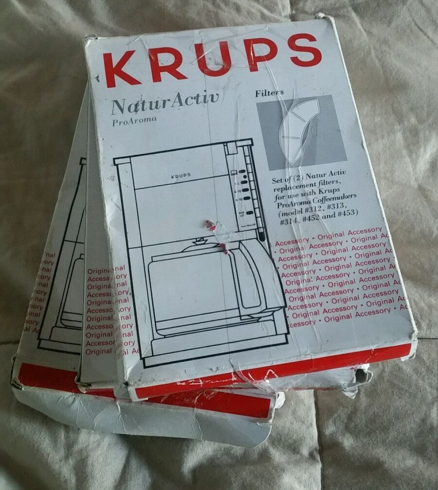 "Krups ""NaturActiv"" Replacement Water Filters for ProAroma Coffeemakers in Home & Garden, Kitchen, Dining & Bar, Small Kitchen Appliances 
