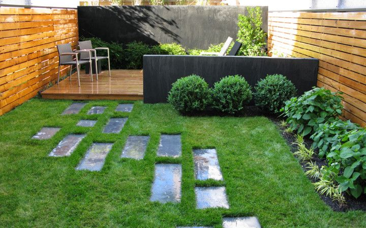Green Front Townhouse Landscaping in the Garden Design Ideas