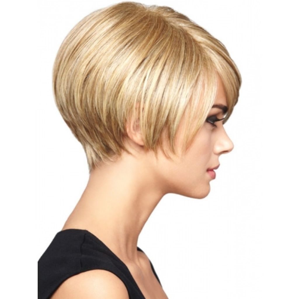Back View Short Wedge Haircut Cly And Trendy Women Haircuts Bob Style Hairstyles Medium Hair Photo