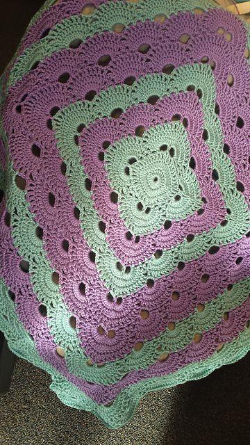 Virus Blanket pattern by Jonna Martinez