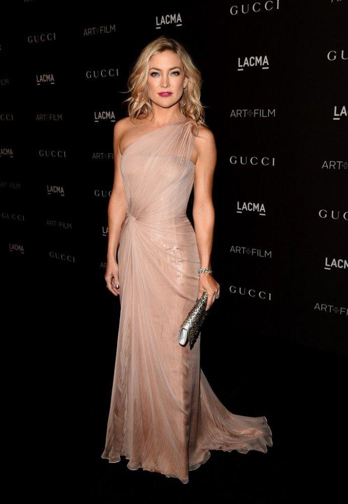 Kate Hudson In Gucci Premire 2014 Lacma Art Film Gala My