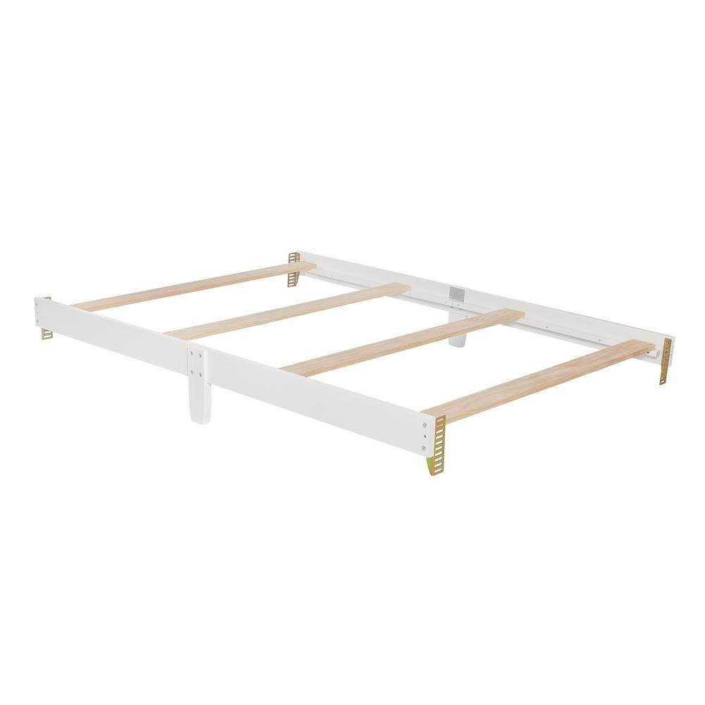 Dream On Me Universal White Full Size Bed Rail 1 Pack White Full Size Bed Bed Rails Simple Bed
