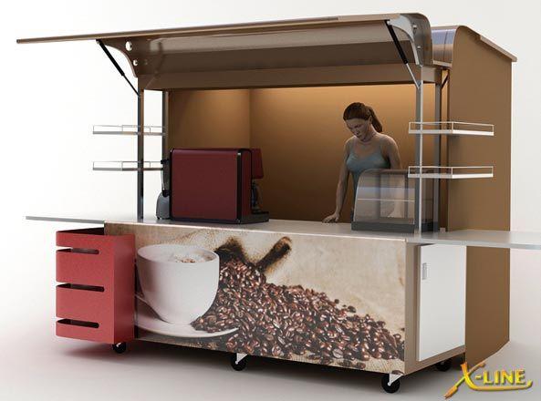Large Coffee Carts - Carts Australia (มีรูปภาพ)