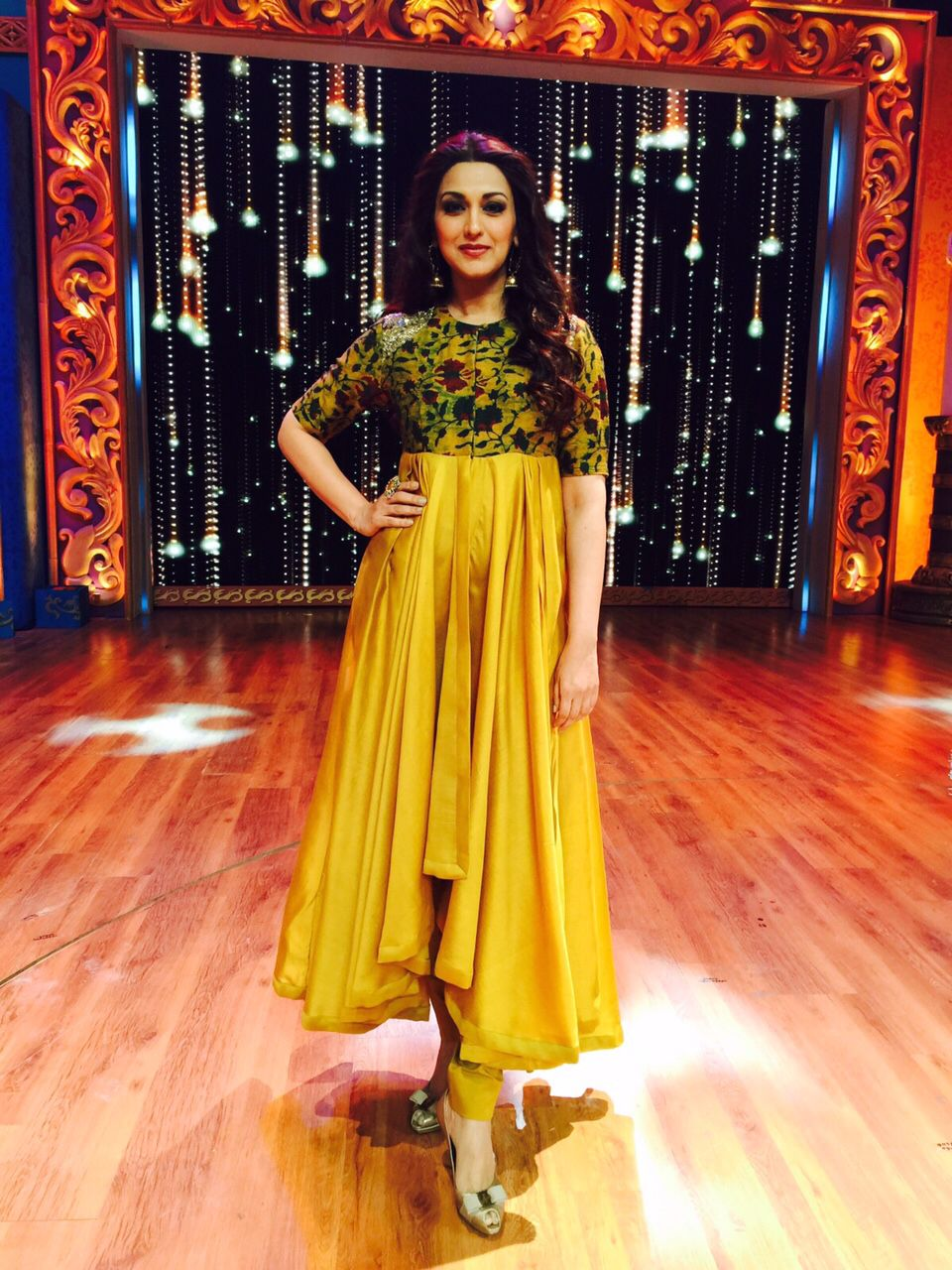 Sonali Bendre Behl as a judge of the reality show 'India's