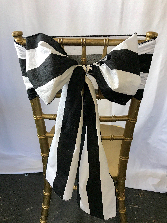 Super Bulk 50 Wedding Chair Sash Striped Chair Sash Chair Sash Onthecornerstone Fun Painted Chair Ideas Images Onthecornerstoneorg
