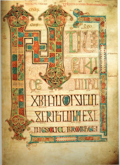 Book of Kells 800 AD