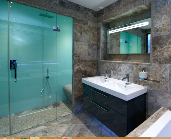 Lustrolite Glacier High Gloss Bathroom Wall Panels | attic bathroom ...