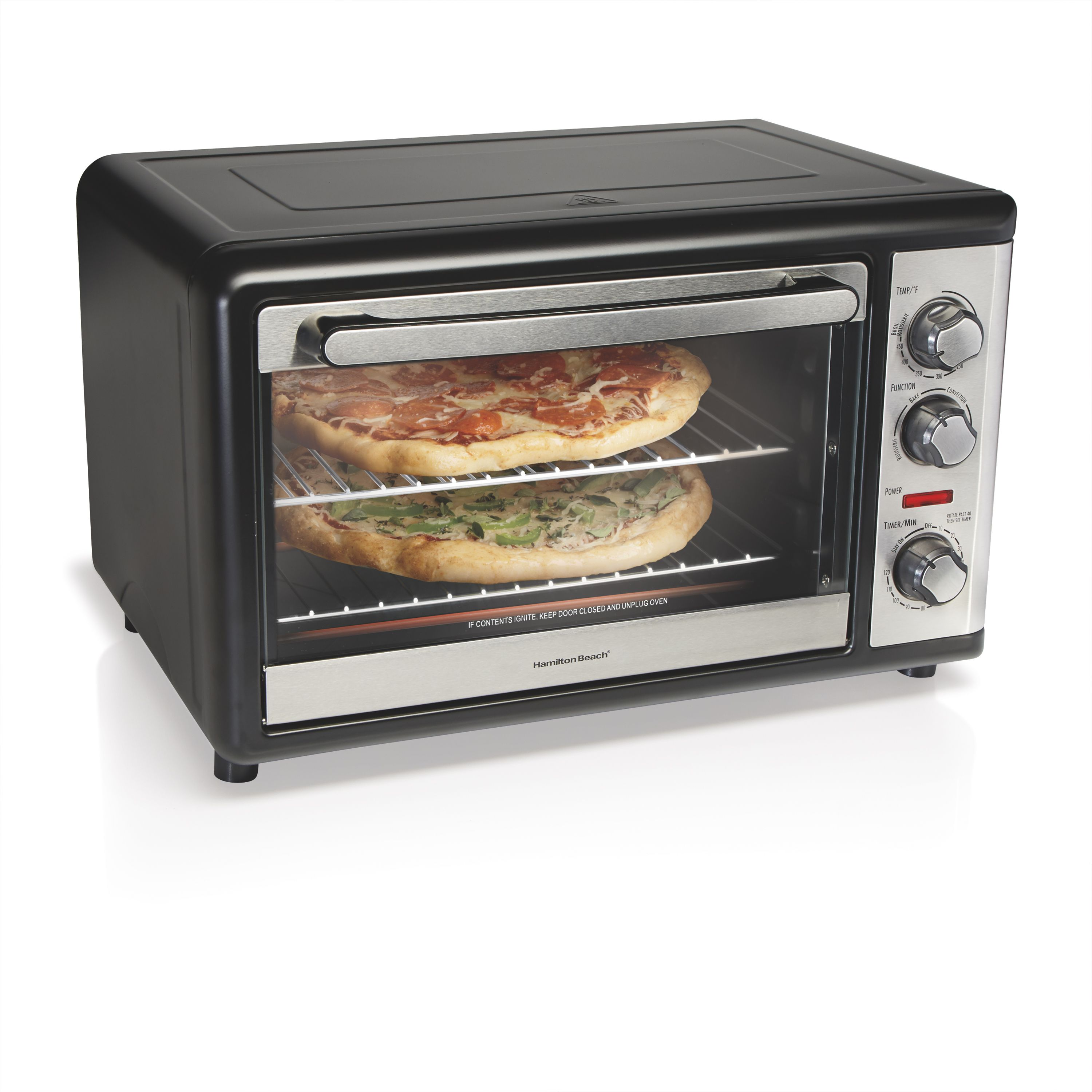 Free Shipping Buy Hamilton Beach Xl Convection Oven With Rotisserie At Walmart Com Countertop Convection Oven Convection Oven Toaster Oven