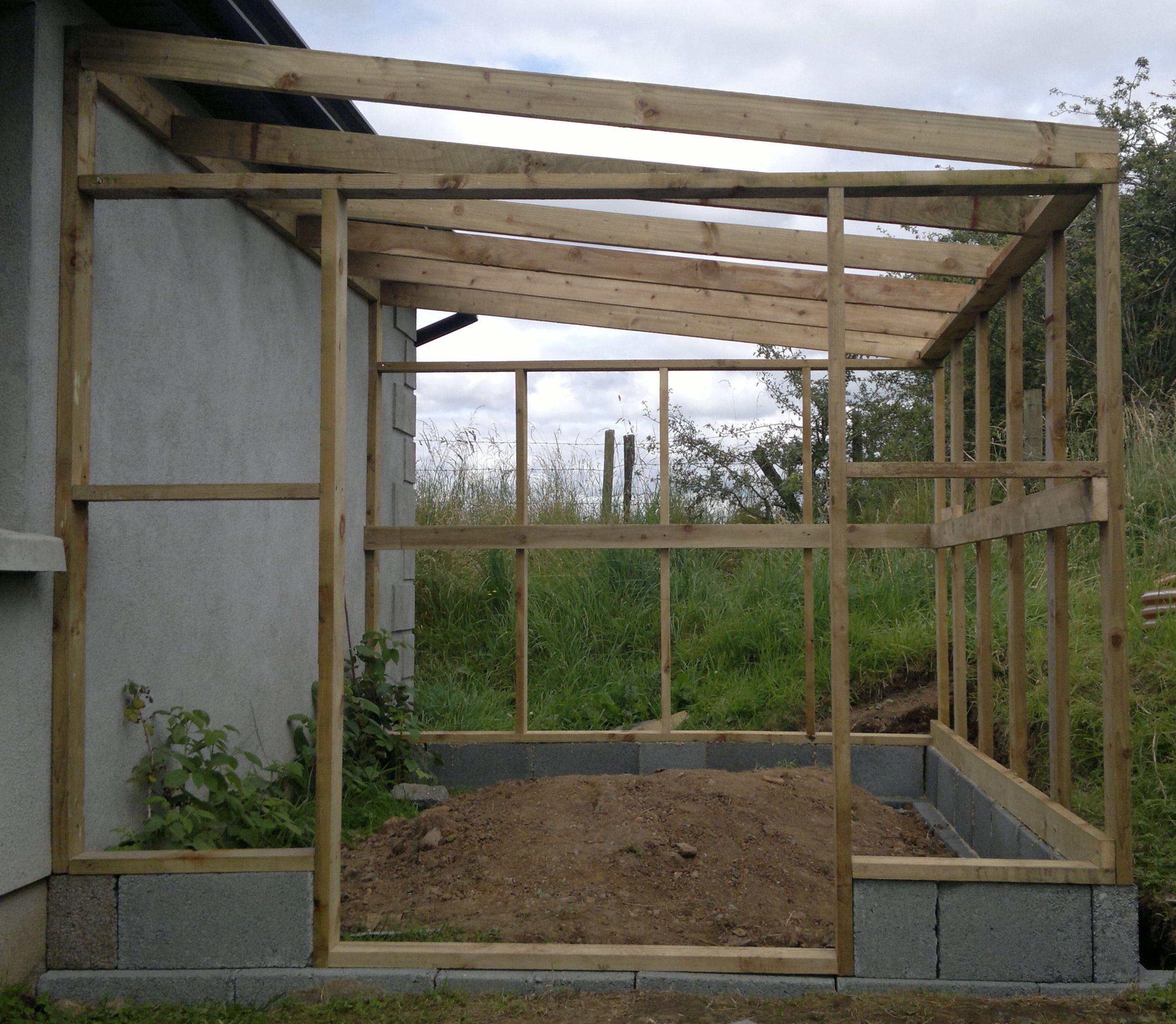 Lean To Greenhouse Pinteres
