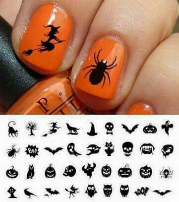 Nail Templates Cricut Time Pinterest Cricut Silhouettes And - How to make vinyl nail decals with cricut