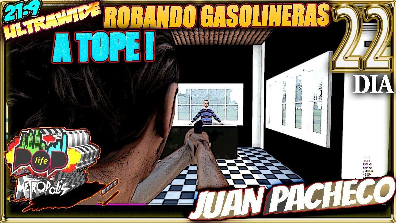 POP LIFE 4 Arma 3 #22 ROBANDO GASOLINERAS A TOPE! Gameplay Español 21:9