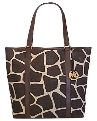 51639c42100227 Michael Kors Giraffe Print Tote, I want a giraffe purse | Handbags ...