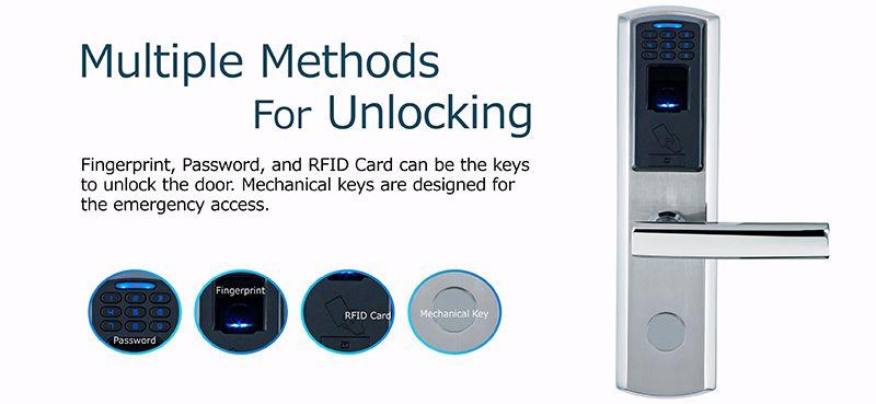 M100 high quality digital biometric fingerprint lock