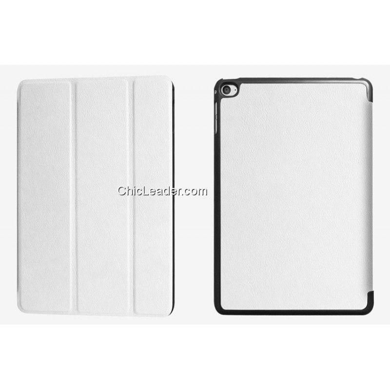 Mini Cooper Stripe Leather Sleeve Case for iPad 2 Black//White