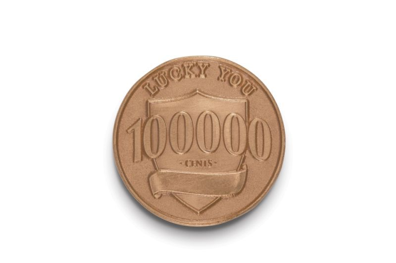 Bank places 100 'lucky pennies' across US worth $1,000 each
