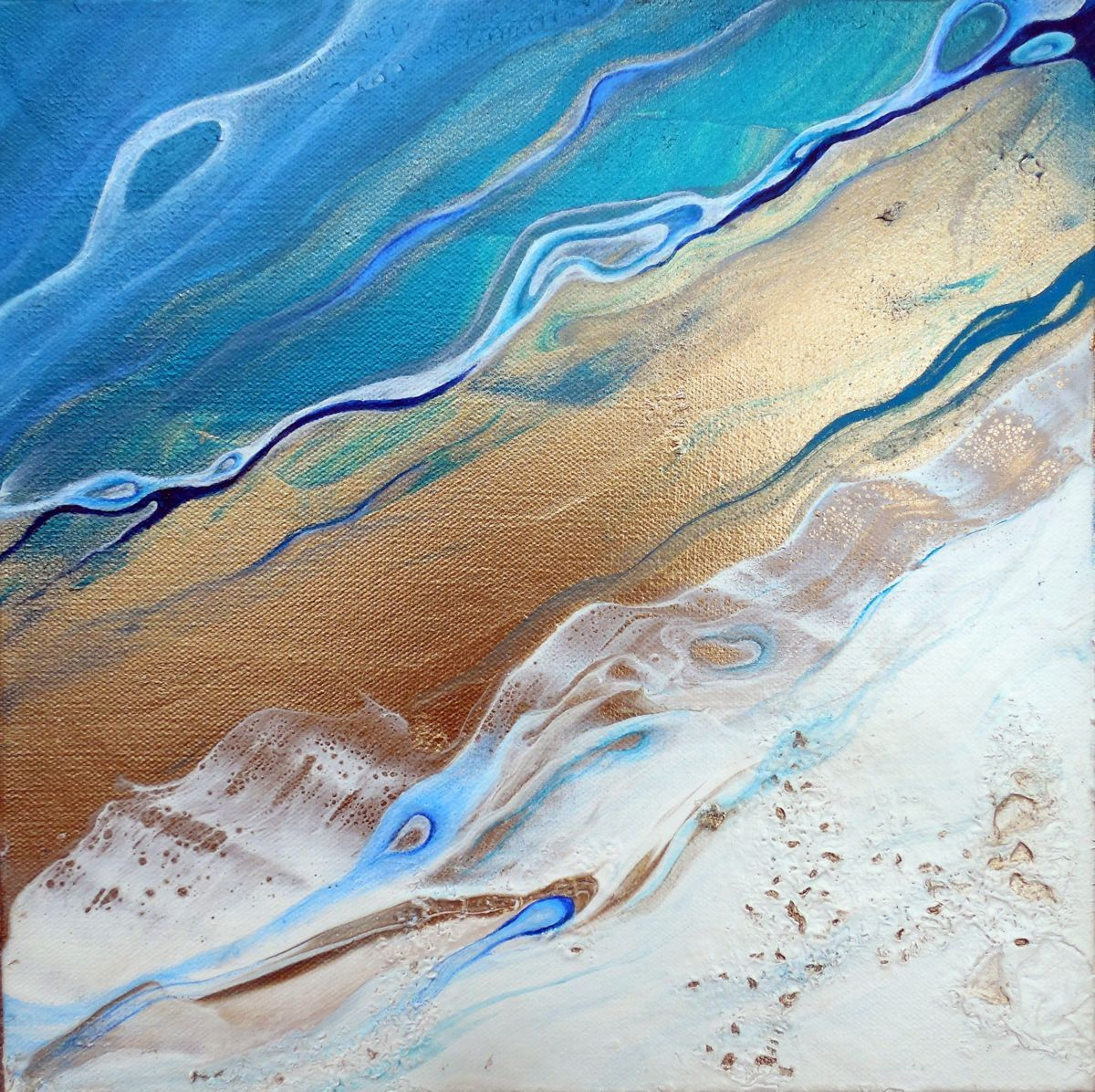 Healing waters painting xx in by holly anderson this