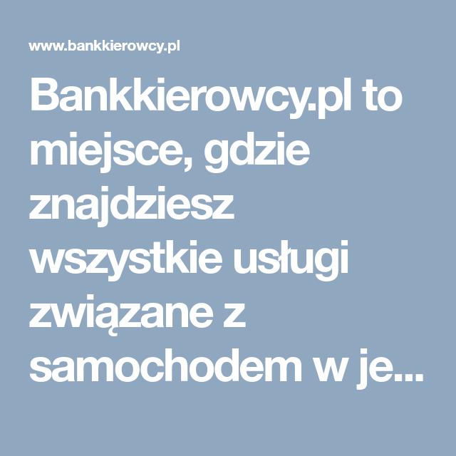 Bankkierowcy Pl To Miejsce Gdzie Znajdziesz Wszystkie Uslugi Zwiazane Z Samochodem W Jednym Miejscu Wraz Z Aktualna Informac Ios Messenger Mobile Boarding Pass