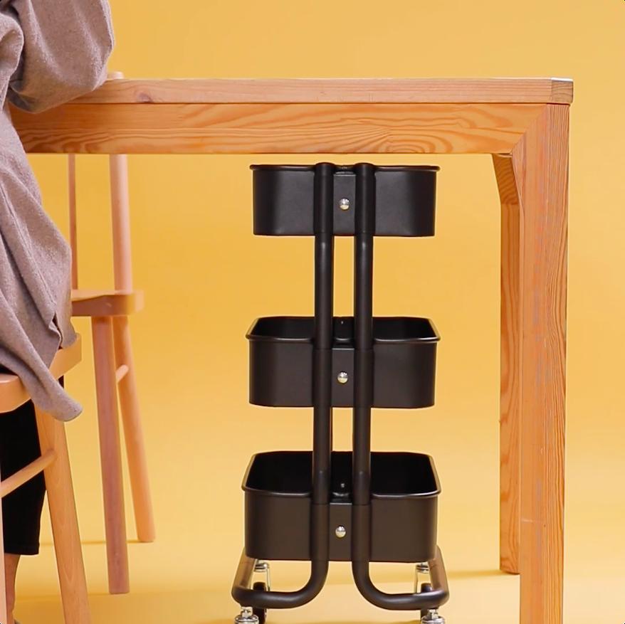 人気ワゴンにミニサイズが Ikea ロースフルト が使いやすくて超便利 Mamatas ママタス 2020 収納 アイデア 便利 キッチンツール