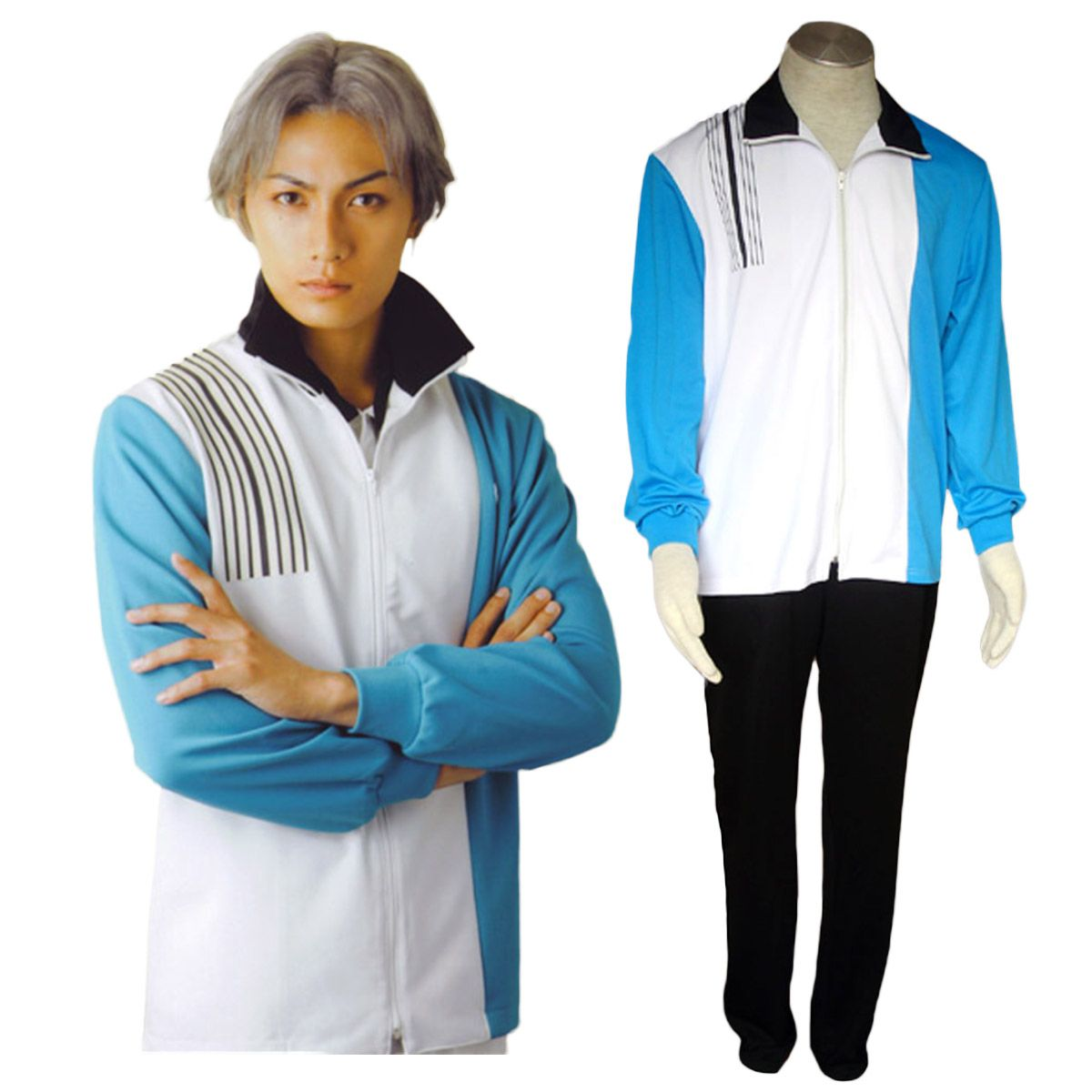 Deluxe The Prince Of Tennis Hyotel Gakuen Winter Uniforms Cosplay Costumes Cosplay Costumes The Prince Of Tennis Costumes
