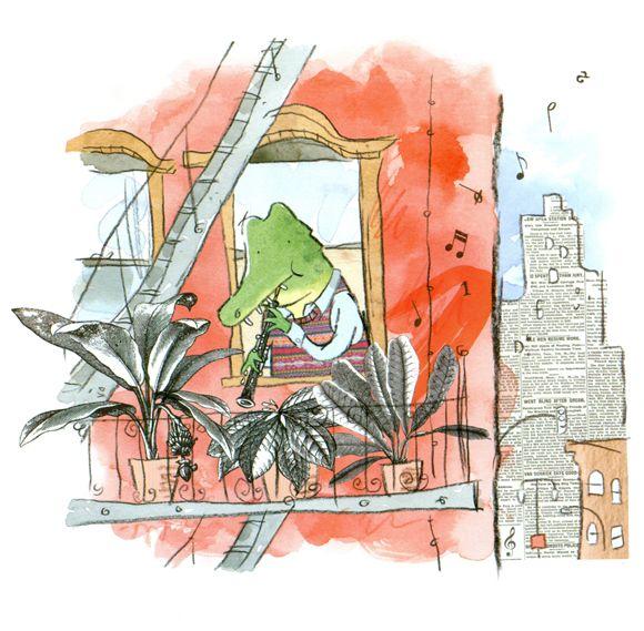 Ilustraciones de Gus Gordon para Herman y Rosie