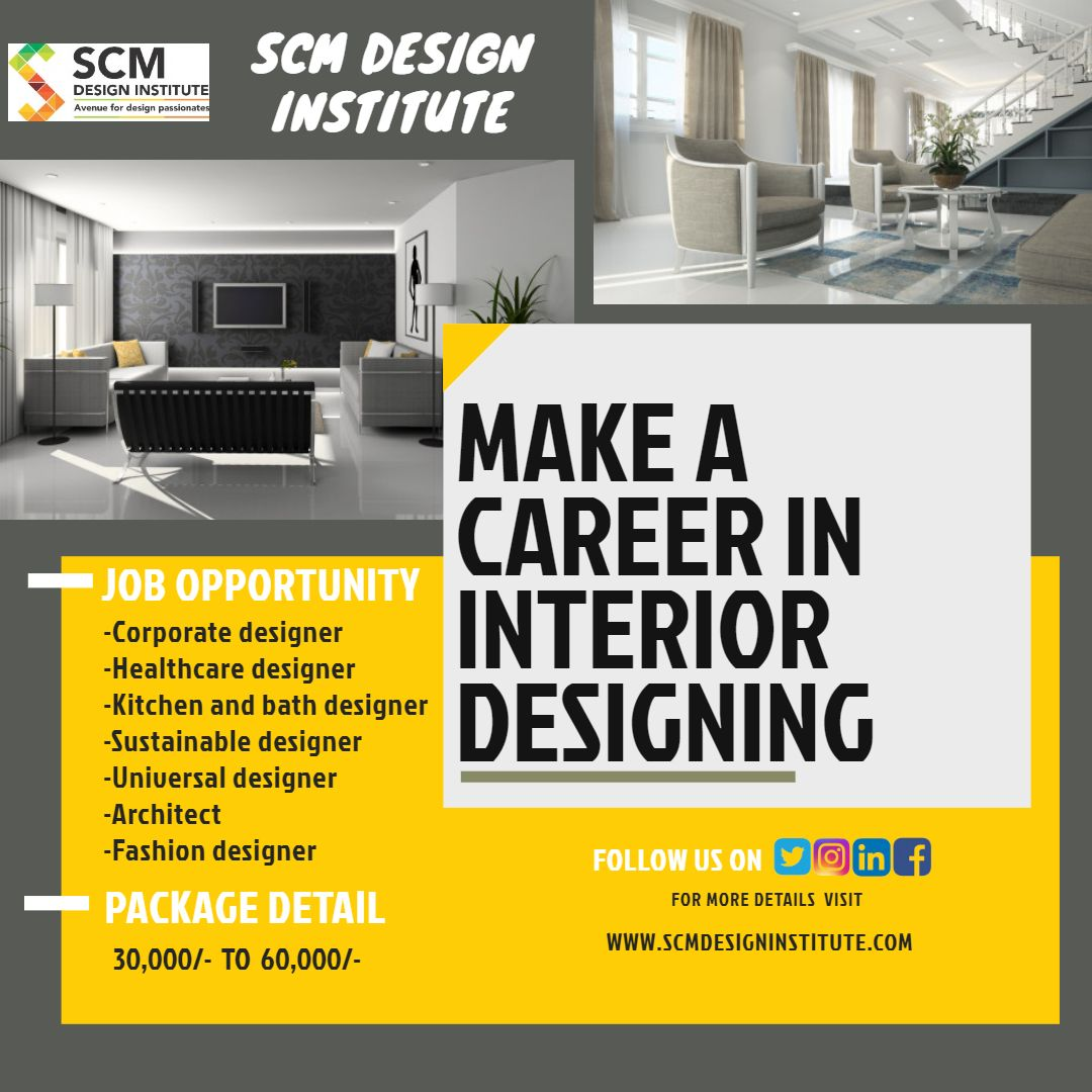 A Career Option As Interior Designer Is One Of The Best Career
