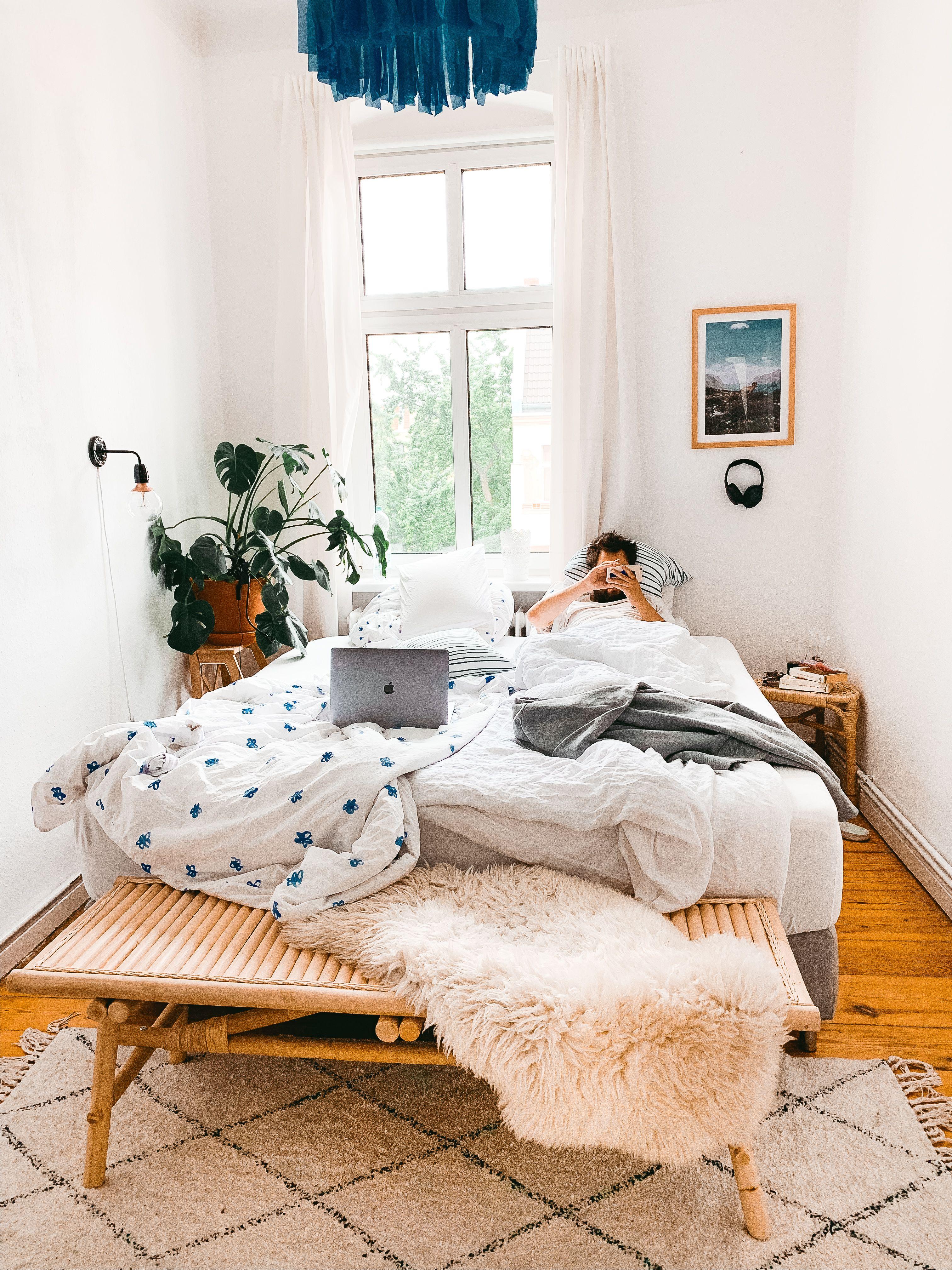 Cool Bett In Wohnzimmer Ideen Einzimmerwohnung Einrichten 1