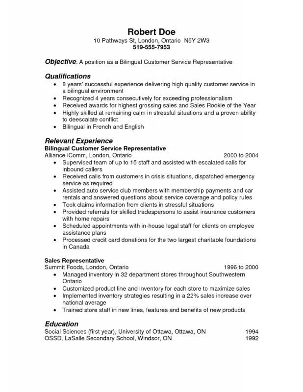 Best Resume Objectives template Pinterest - fb resume objective