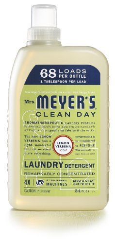 Mrs Meyer S Clean Day Liquid Laundry Detergent Lemon Verbena