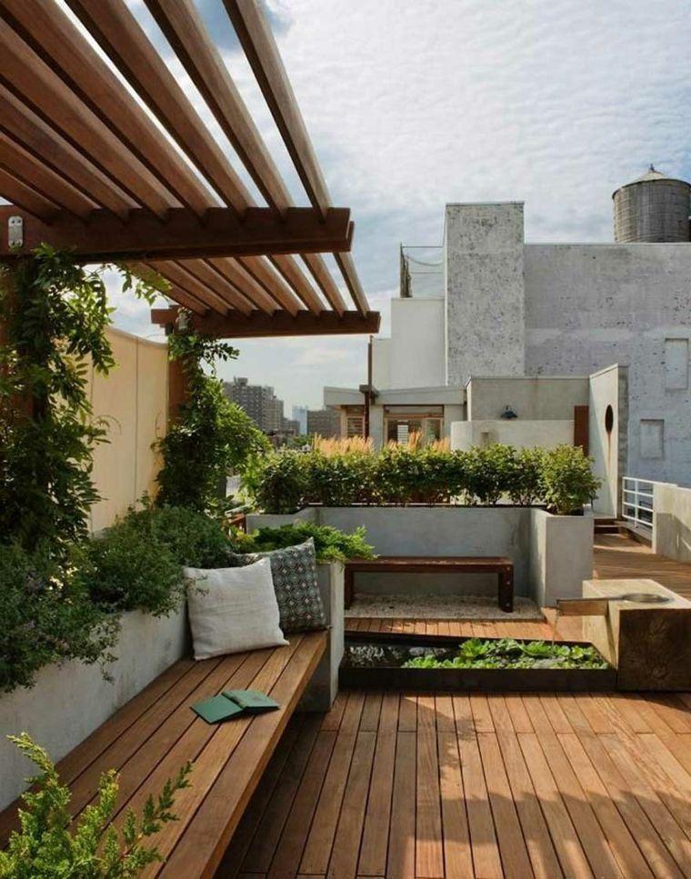 Balcones Y Azoteas De Diseno Diseno De Terraza Diseno De Azotea Diseno De Patio
