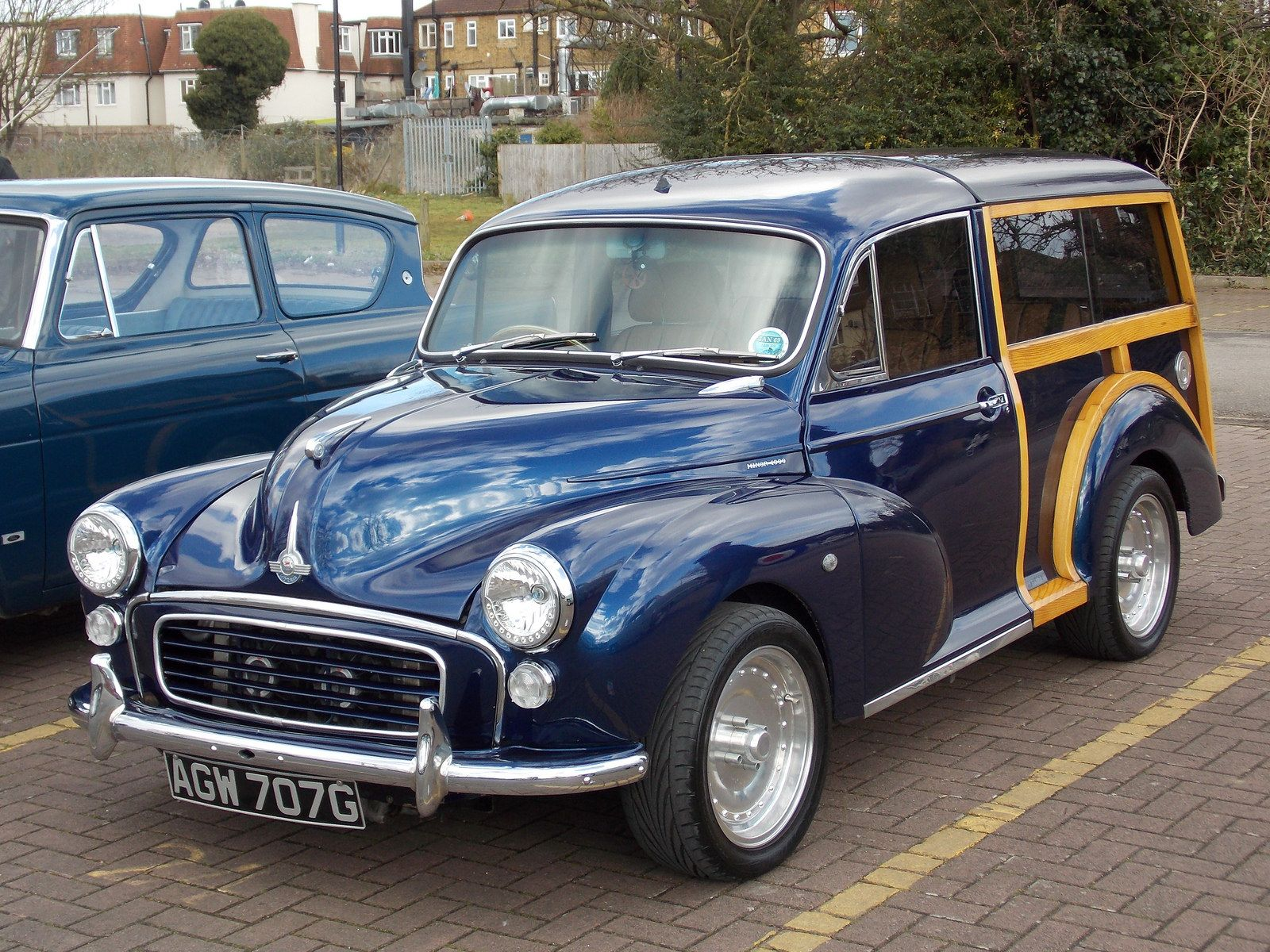 c.1969 Morris Minor 1000 Traveller custom | Flickr - Photo Sharing!