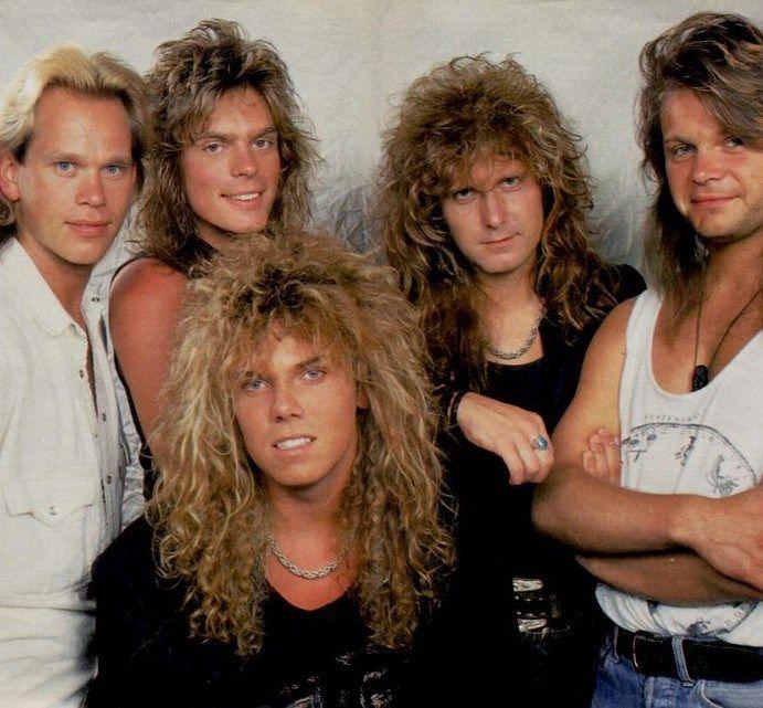 Hits Of The 80 S Europe En De Liefde Voor Krullen 1986 80sgeek Krullen Haar Muziek