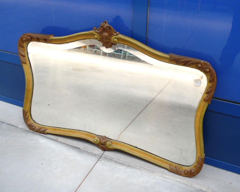 Specchiera barocco veneziano laccata lato 108 x 71 cm ...