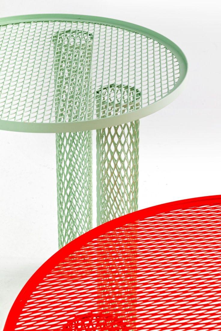 Benjamin Hubert Cradle Chair Net Tables For Moroso