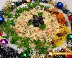 Winter Russian Salad Olivier #olivierrussischersalat Winter Russian Salad Olivier | Russian Food Recipes | Genius cook - Healthy Nutrition, Tasty Food, Simple Recipes #olivierrussischersalat