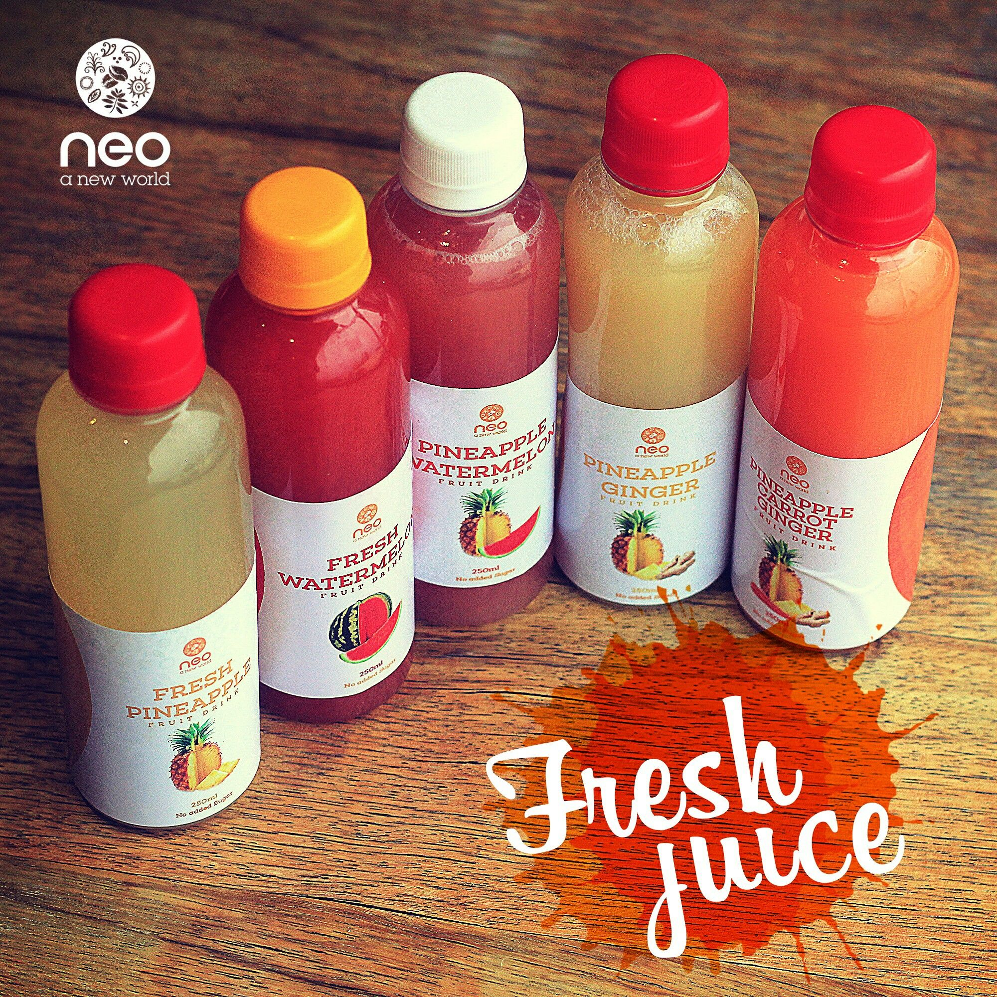 We all need a chilled bottle of freshly made #mycafeneo juice.
