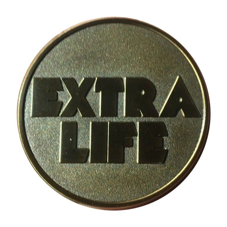 Details about Extra Life Coin Quarter Ready Player One Coin Token