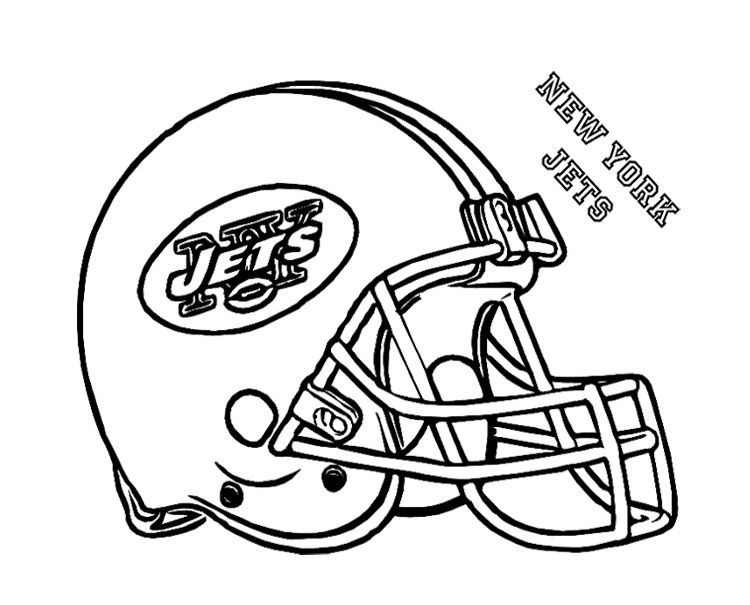 Football Helmet New York Jets Coloring Page For Kids Kids Coloring - best of jets hockey coloring pages