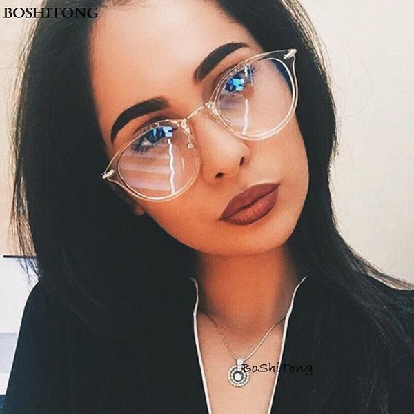 a230c47728e 2018 Fashion Women Glasses Frame Men Eyeglasses Frame Vintage Round Clear  Lens Glasses Optical Spectacle Frame