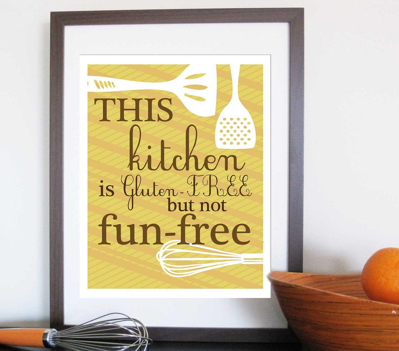 Attractive Kitchen Artwork Print