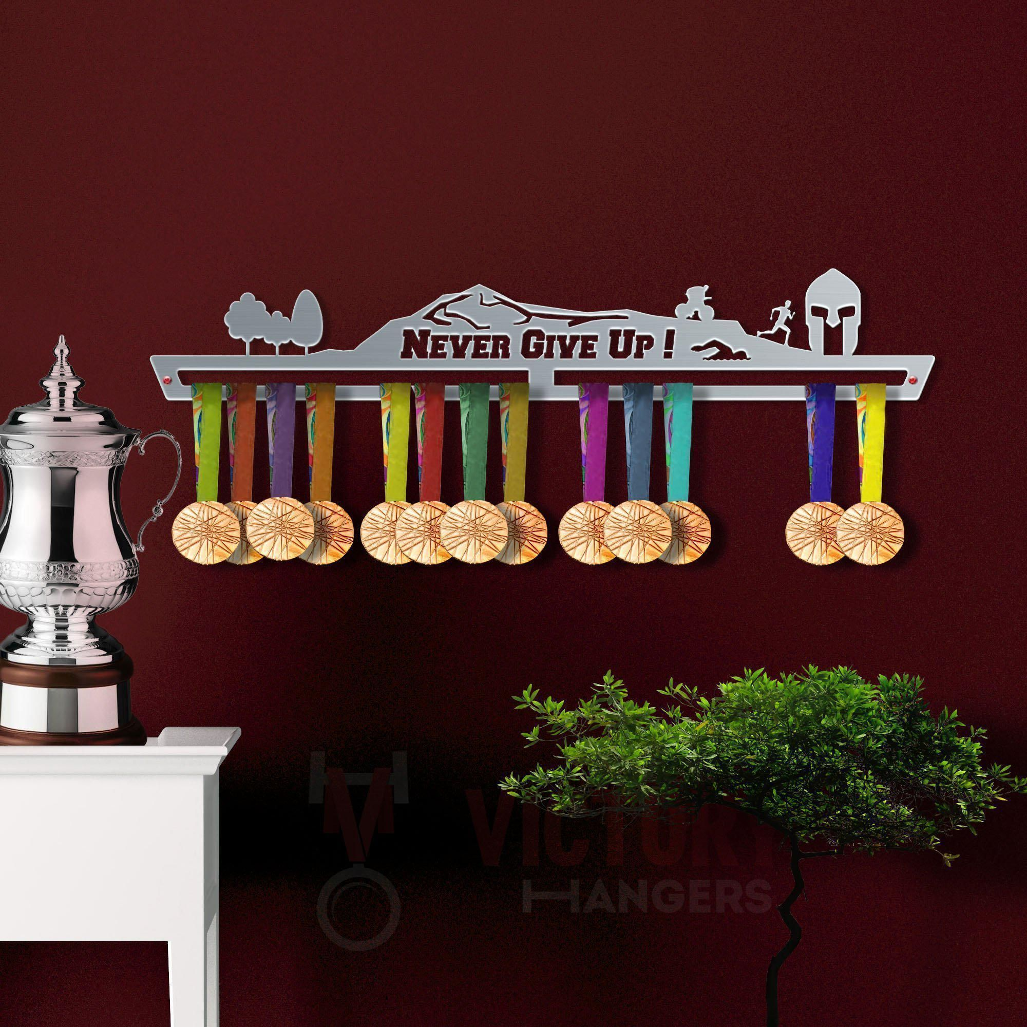 Sports Medal Hangers Handball Medal Hanger Display by VictoryHangers Stainless Steel Medal Display The Best Gift for Champions !